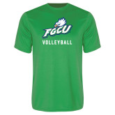 Syntrel Performance Kelly Green Tee-Volleyball