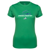 Ladies Syntrel Performance Kelly Green Tee-Cross Country Shoe
