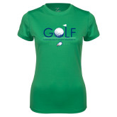 Ladies Syntrel Performance Kelly Green Tee-Golf Flag and Ball
