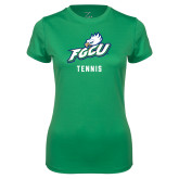 Ladies Syntrel Performance Kelly Green Tee-Tennis