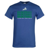 Royal T Shirt-Basketball Triple Stacked