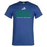 Royal T Shirt-Basketball Triple Stacked