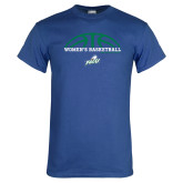 Royal T Shirt-Basketball Half Ball
