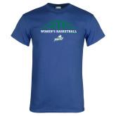 Royal T Shirt-Basketball Half Ball