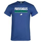 Royal T Shirt-Basketball Stacked