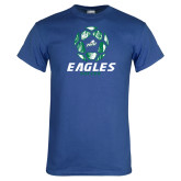 Royal T Shirt-Soccer Ball Design