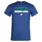Royal T Shirt-Swimming and Diving Stacked