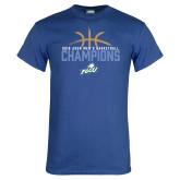 Royal T Shirt-2016 Atlantic Sun Conference Champions Mens Basketball