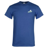 Royal T Shirt-Primary Athletic Mark