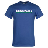 Royal T Shirt-Dunk City Official Logo