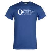 Royal T Shirt-University Mark Flat