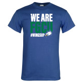 Royal T Shirt-We Are FGCU