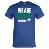 Royal T Shirt-We Are FGCU