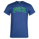 Royal T Shirt-Arched FGCU