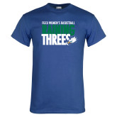 Royal T Shirt-Raining Threes