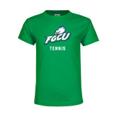 Youth Kelly Green T Shirt-Tennis