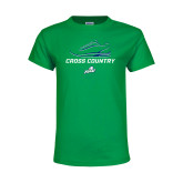Youth Kelly Green T Shirt-Cross Country Shoe