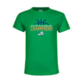 Youth Kelly Green T Shirt-2016 Atlantic Sun Conference Champions Mens Basketball