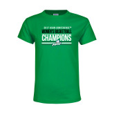 Youth Kelly Green T Shirt-Asun Conference 2017 Womens Basketball Champions