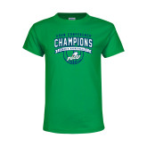 Youth Kelly Green T Shirt-ASUN Champions 2017 Mens Basketball