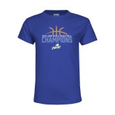 Youth Royal T Shirt-2016 Atlantic Sun Conference Champions Mens Basketball