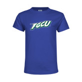 Youth Royal T Shirt-FGCU