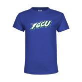 Youth Royal T Shirt-FGCU
