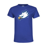 Youth Royal T Shirt-Eagle Head