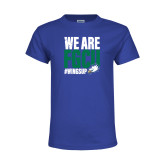 Youth Royal T Shirt-We Are FGCU