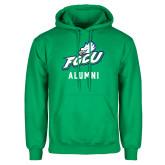 Kelly Green Fleece Hoodie-Alumni