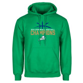 Kelly Green Fleece Hood-2016 Atlantic Sun Conference Champions Mens Basketball
