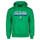 Kelly Green Fleece Hoodie-Regular Season Champions 2017 Mens Basketball Bar Design