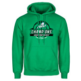 Kelly Green Fleece Hoodie-Asun Conference 2017 Womens Basketball Champions
