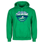 Kelly Green Fleece Hoodie-ASUN Champions 2017 Mens Basketball