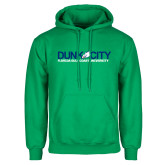 Kelly Green Fleece Hoodie-Dunk City Official Logo