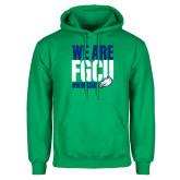 Kelly Green Fleece Hoodie-We Are FGCU