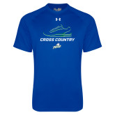 Under Armour Royal Tech Tee-Cross Country Shoe