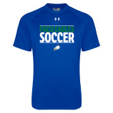 Under Armour Royal Tech Tee-Stacked Soccer