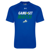 Under Armour Royal Tech Tee-Game Set Match Tennis
