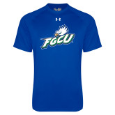 Under Armour Royal Tech Tee-Primary Athletic Mark