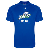 Under Armour Royal Tech Tee-Softball