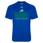 Under Armour Royal Tech Tee-Basketball Triple Stacked