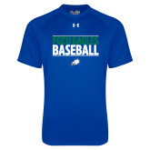 Under Armour Royal Tech Tee-Baseball Stacked