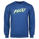 Royal Fleece Crew-FGCU