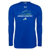 Under Armour Royal Long Sleeve Tech Tee-Cross Country Shoe