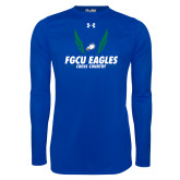 Under Armour Royal Long Sleeve Tech Tee-Cross Country Wings
