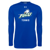Under Armour Royal Long Sleeve Tech Tee-Tennis
