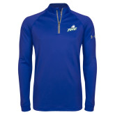 Under Armour Royal Tech 1/4 Zip Performance Shirt-Primary Athletic Mark
