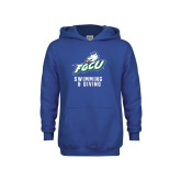 Youth Royal Fleece Hoodie-Swimming and Diving
