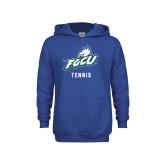 Youth Royal Fleece Hoodie-Tennis